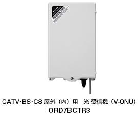 2681MHz超広帯域伝送可能 光 受信機(V-ONU)