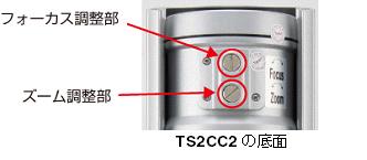TS2CC2の底面