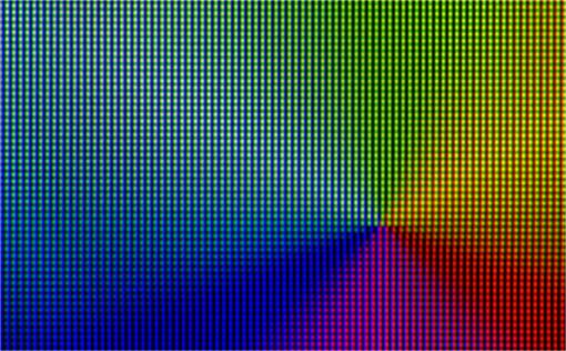 表現可能な色の範囲が大幅に拡大する。