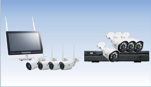 4カメラ&ハードディスクレコーダーセット