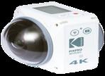 アクションカメラセット KODAK PIXPRO 4KVR360
